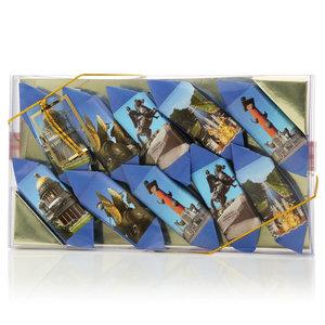 Шоколадные конфеты Огни нашего города Chocolate Peterburg (Чоколад Петербург)