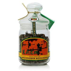 Чай зеленый Жасминовая жемчужина ТМ Русская чайная компания