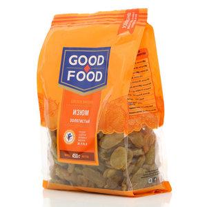 Изюм сушеный фасованный золотистый ТМ Good Food (Гуд Фуд)