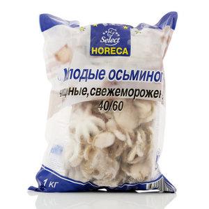 Молодые осьминоги чищенные свежемороженные 40/60 ТМ Select Horeca (Селект Хорека)