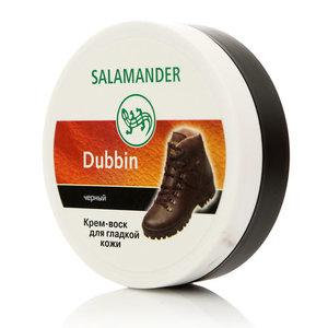 Крем - воск для ухода за гладкой кожей черный ТМ Salamander (Саламандер)
