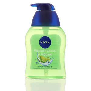 Жидкое мыло ТМ Nivea (Нивея) Лемонграсс и масло