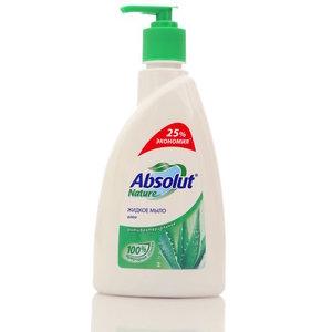 Жидкое мыло антибактериальное ТМ Absolut Nature (Абсолют Натур) Алоэ