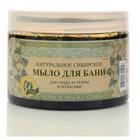 Натуральное сибирское мыло для бани ТМ Черное Мыло Агафьи для ухода за телом и волосами