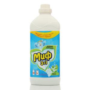 Жидкий порошок 3 в 1 свежесть ландышей ТМ Миф