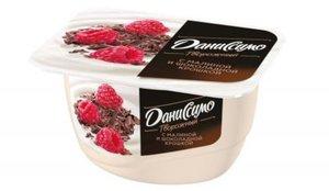 Творожок с малиной и шоколадной крошкой 6,2% ТМ Даниссимо