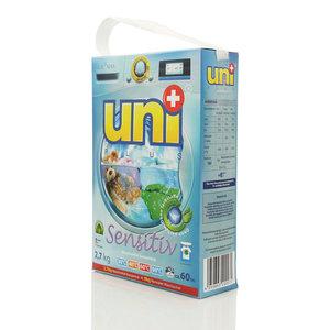 Стиральный порошок концентрированный Sensitiv ТМ UNI+ (ЮНИ+)