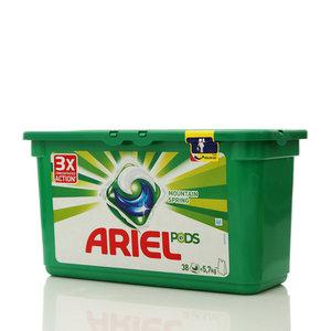 Cредство моющее жидкое в растворимых капсулах 3 в 1, Mountain Spring ТМ Ariel (Ариель)