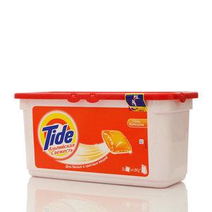 Средство моющее жидкое в растворимых капсулах Альпийская свежесть ТМ Tide (Тайд)