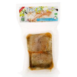 Треска филе-кусок без кожи мороженая в соусе по-итальянски ТМ Милое дело