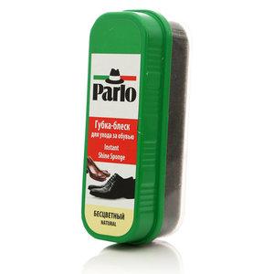 Губка - блеск для ухода за обувью бесцветный ТМ Parlo (Парло)