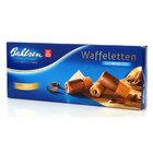 Вафельные трубочки в молочном шоколаде Waffeletten milk (Ваффелетен милк) ТМ Bahlsen (Балзен)