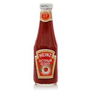 Кетчуп острый ТМ Heinz (Хайнц)