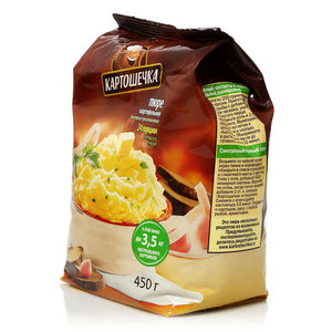 Картофельное пюре быстрого приготовления ТМ Картошечка
