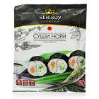 Морские водоросли сушеные для приготовления суши и роллов (50 листов) ТМ Sen Soy (Cен Cой) Премиум