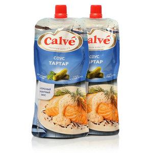 Соус для рыбы тартар ТМ Calve (Кальве), 2*230г, на основе растительных масел
