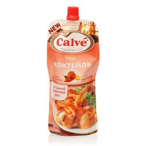 Соус коктейль ТМ Calve (Кальве) на основе растительных масел