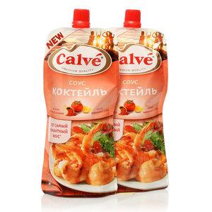 Соус коктейль ТМ Calve (Кальве), 2*230г на основе растительных масел