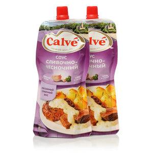 Соус сливочно-чесночный ТМ Calve (Кальве), 2*230г, на основе растительных масел