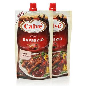 Соус томатный барбекю ТМ Calve (Кальве), 2*230г