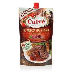 Кетчуп к мясу на углях ТМ Calve (Кальве)