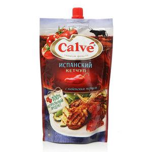 Кетчуп испанский с кайенским перцем ТМ Calve (Кальве)