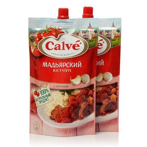 Кетчуп мадьярский ТМ Calve (Кальве), 2*350г