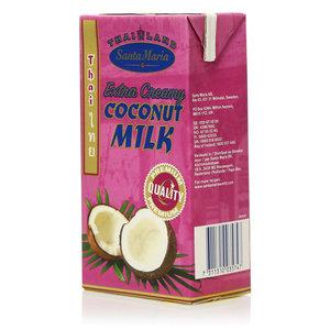 Нектар из мякоти кокосового ореха: кокосовые сливки ТМ Santa Maria (Санта Мария)
