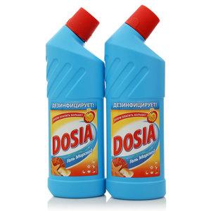 Средство чистящее дезинфицирующее Гель морской, 2 шт ТМ Dosia (Дося)