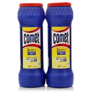 Порошок чистящий ТМ Comet (Комэт) Лимон, 2 шт