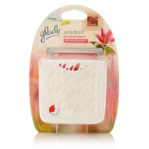 Гелевый освежитель воздуха Для ванной комнаты Цветочное совершенство ТМ Glade (Глэйд)
