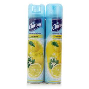 Освежитель воздуха Лимон ТМ Chirton (Чиртон), 2 шт