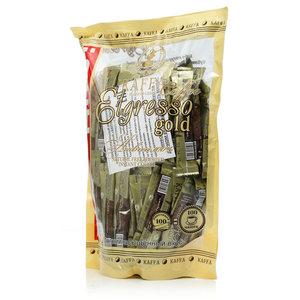 Кофе растворимый Elgresso Gold ТМ Kaffa (Каффа) 100 пакетиков сублимированный