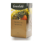 Чай зеленый Tropical Marvel 25*2 г  ТМ Greenfield (Гринфилд)