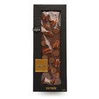 Шоколад молочный ручной работы с топпингами: пастилки из шоколада с карамельным вкусом, орех пекан, ванильная морская соль из Таити ТМ ChocoMe (ЧокоМи)
