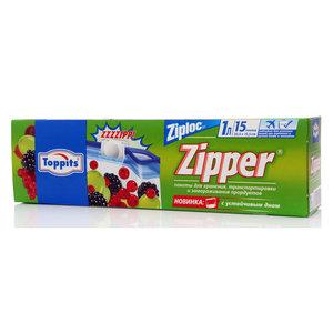 Пакеты для хранения, транспортировки и замораживания продуктов ТМ Toppits (Топпитс)