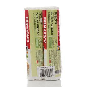 Бутербродные пакеты ТМ Prima Pack (Прима Пак), 2*100шт