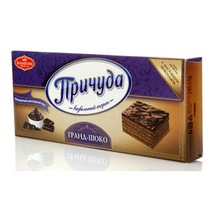 Торт вафельный Гранд-Шоко ТМ Причуда