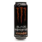 Напиток безалкогольный тонизирующий газированный khaos ТМ Black Monster (Блэк Монстр)