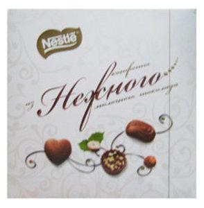 Набор шоколадных конфет из молочного шоколада NESTLE