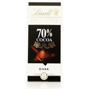 Горький шоколад Lindt Excellence ТМ Lindt 70% какао