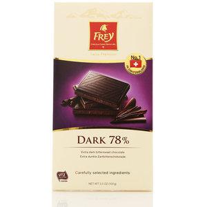 Горький шоколад Supreme 78% ТМ Frey (Фрей)