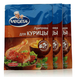 Приправа для курицы ТМ Vegeta (Вегета), 3*20г