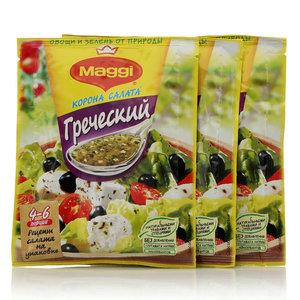 Смесь сухая для салата Греческий ТМ Maggi (Магги) Корона салата, 3*10г