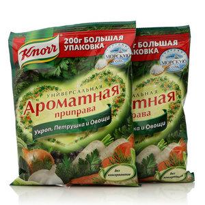 Универсальная ароматная приправа. Сухая смесь, 2*200г, ТМ Knorr (Кнорр)