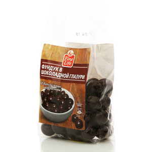 Драже глазированное фундук в шоколадной глазури ТМ Fine Life (Файн Лайф)