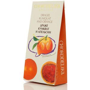 Драже кумкват и апельсин ТМ Chokodelika (Чокоделика)