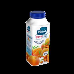 Йогурт питьевой с абрикосом и облепихой 0,4% ТМ Valio (Валио)