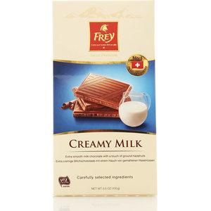 Шоколад молочный нежный ТМ Frey (Фрей)