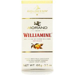 Шоколад молочный с ликером Williamine TM Morand (Моранд)